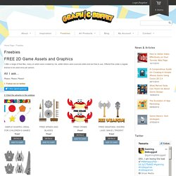 Vector game graphics for Indie game developers - Free Vector Graphics