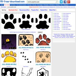 Vector graphics paw Free vector for free download (about 15 files