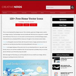 120+ Free Home Vector Icons