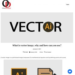 What is vector image, why and how can you use? - Online Demand