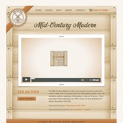 Vector Mill — Mid-Century Modern