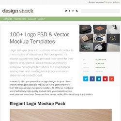 100+ Logo PSD & Vector Mockup Templates