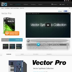 Vector Pro - The Vector Synthesis Collection
