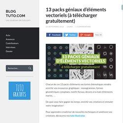 13 packs géniaux d'éléments vectoriels (à télécharger)
