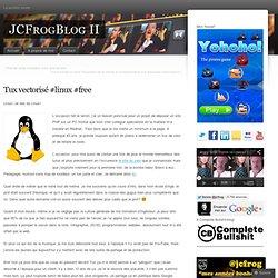 Tux vectorisé #linux #free