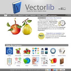 VectorLib - Royalty-Free Vector Graphics Library