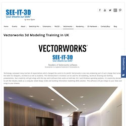 Vectorworks Training UK