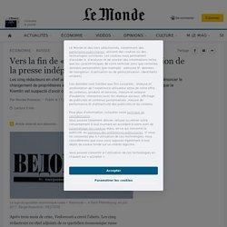 Vers la fin de «Vedomosti», dernier bastion de la presse indépendante en Russie