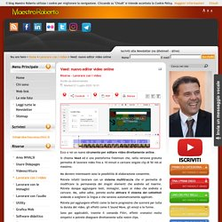 Veed: nuovo editor video online