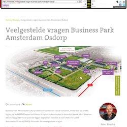 Veelgestelde vragen Business Park Amsterdam Osdorp