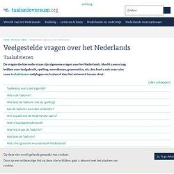 Veelgestelde vragen over het Nederlands