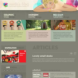 Veerle's blog 2.0 - Webdesign - XHTML CSS | Graphic Design