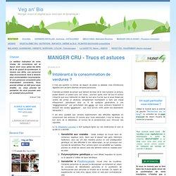 MANGER CRU - Trucs et astuces