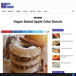 Vegan Baked Apple Cider Donuts Recipe - STL Cooks
