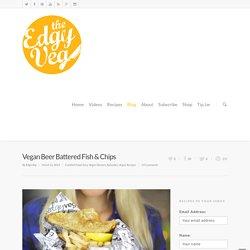 Vegan Beer Battered Fish & Chips