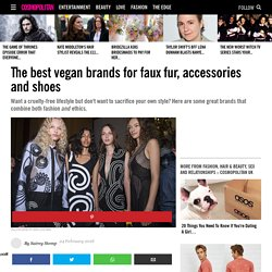 The best vegan brands for faux fur
