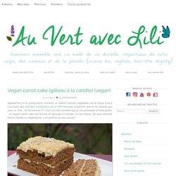 Vegan carrot cake (gâteau à la carotte)