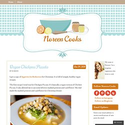 Vegan Chickpea Piccata « Spices and Spackle