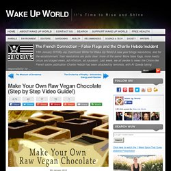 Make Your Own Raw Vegan Chocolate (Step by Step Video Guide!)