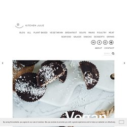 Vegan Coconut & Chocolate Bars