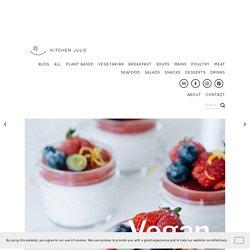 Vegan Coconut Panna Cotta