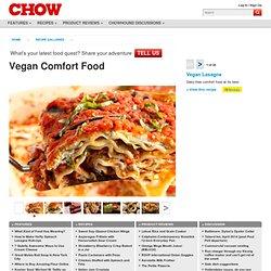 Vegan Comfort Food - Vegan Lasagne - Photo Gallery