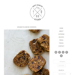 Vegan Fig Anise Cookies - Happy Hearted Kitchen