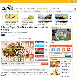 5 Vegan Side Dishes