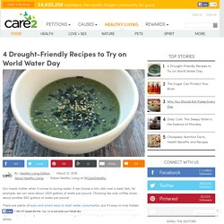 4 Vegan Drought-Friendly Recipes You Have To Try