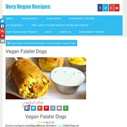 Vegan Falafel Dogs - Very Vegan Recipes