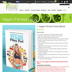 1. Vegan Fitness Food eBook - Vegan Fitness ModelVegan Fitness Model