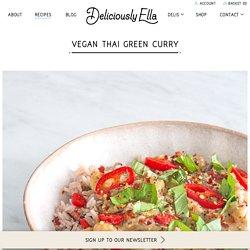 Vegan Thai Green Curry - DeliciouslyElla