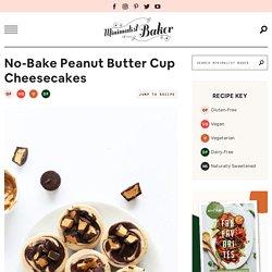 Vegan Peanut Butter Cup Cheesecake