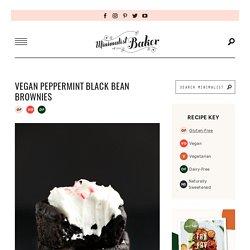 Vegan Peppermint Brownies