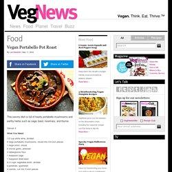 Vegan Portabello Pot Roast