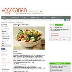 Easy, Vegan Pasta Primavera