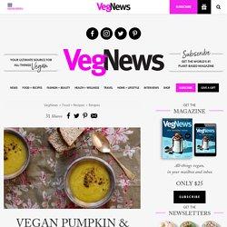 Vegan Pumpkin & Parsnip Soup