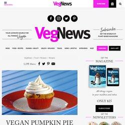 Vegan Pumpkin Pie Cupcakes