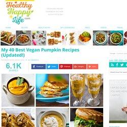 My 40 Best Vegan Pumpkin Recipes (Updated!)
