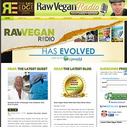 Raw Vegan Radio | Vegan, Raw Vegan, Raw food, Raw food diet, Raw food recipes, Vegan recipes