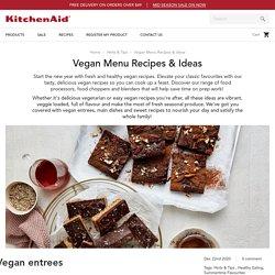 Vegan Menu Recipes & Ideas