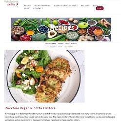 Vegan Ricotta Fritters