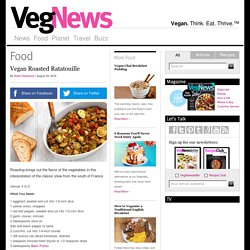 Vegan Roasted Ratatouille