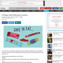 15 Vegan-Safe Halloween Candies