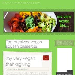 vegan squash casserole