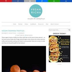 Easy Vegan Tiramisu Truffles Recipe