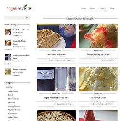 Veganacious Recipes