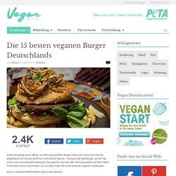 Die 15 besten veganen Burger Deutschlands - VeganBlog.de