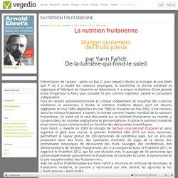 La nutrition fruitarienne
