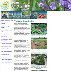 Vegetable Garden Design (National Gardening Association)